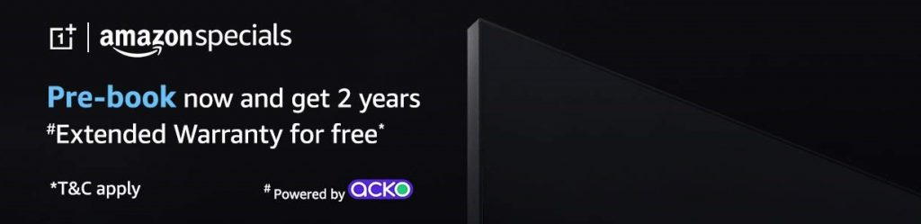 Oneplus Tv Pre Booking Offer
